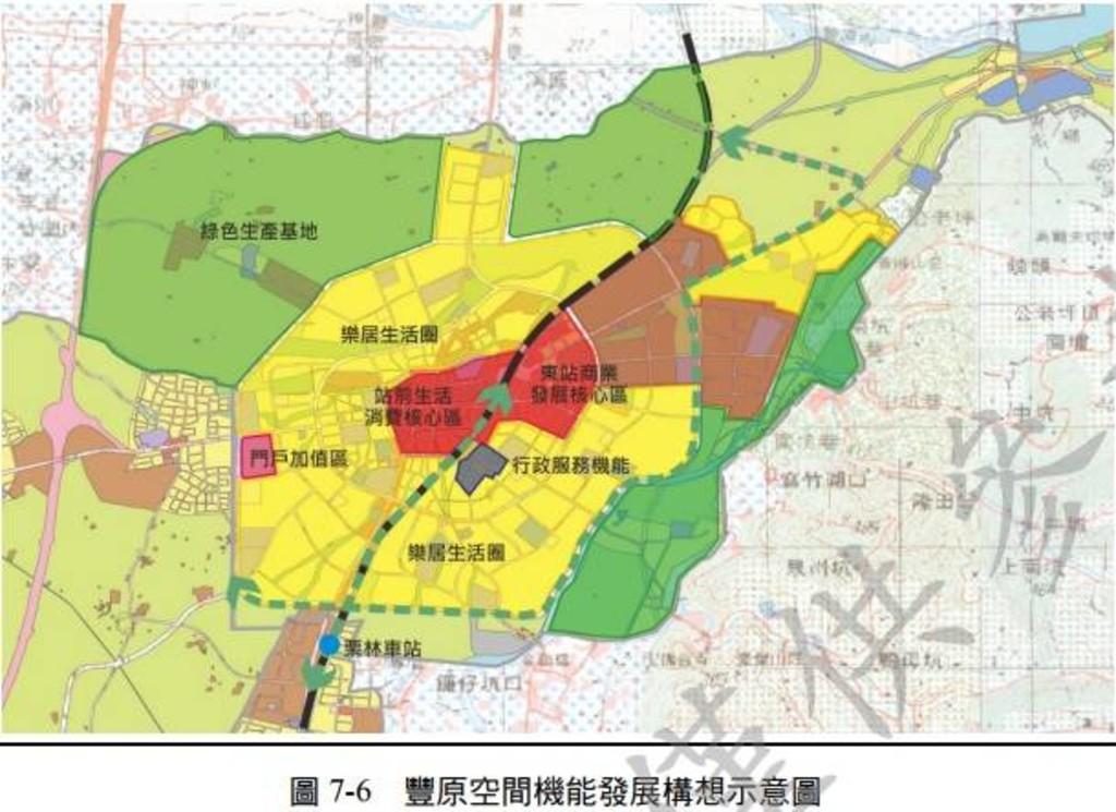 台中市丰原区圆环北路二段