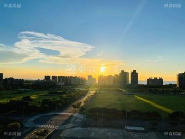 淡海新市鎮夕陽「海洋都心II」我有玄關2房