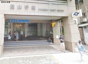 B135龍山寺捷運超值美套房