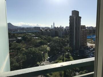 熱銷【101夜景,正面公園,3房改2房】鋼骨大樓寓水